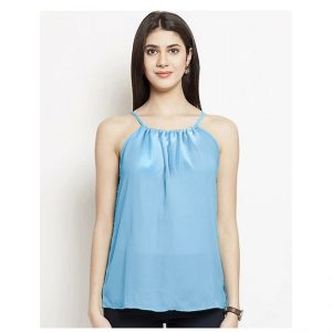 Thin Strap Summer Top – NOW1183 | Sky Blue