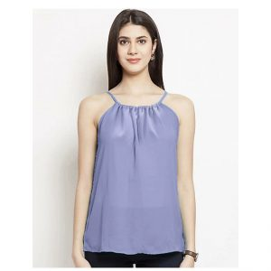 Thin Strap Summer Top – NOW1186 | Light Purple