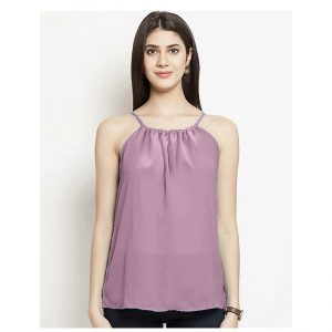 Thin Strap Summer Top – NOW1187 | Tea Pink
