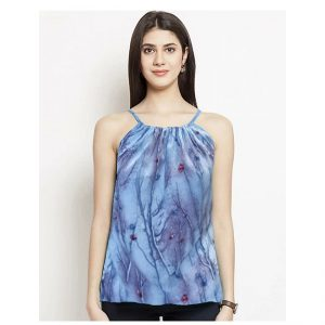 Thin Strap Summer Top – NOW1188 | Blue