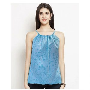 Thin Strap Summer Top – NOW1189 | Light Blue