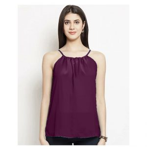 Thin Strap Summer Top – NOW1192 | Maroon