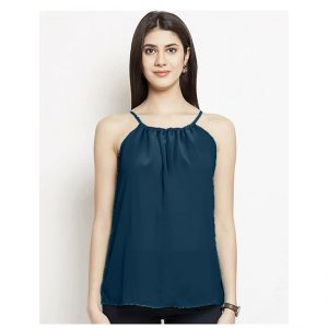 Thin Strap Summer Top – NOW1193 | Bluish Green
