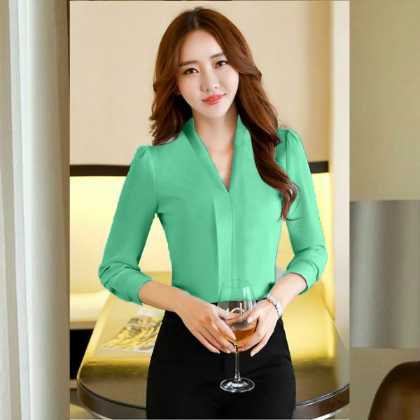 Bell Sleeve Stylish Top – NOW1199 | Green
