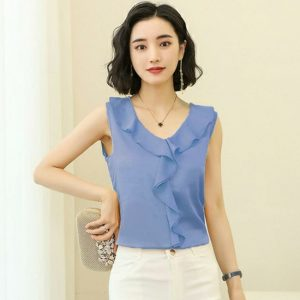 High Quality Top For Women - NOW1125 | Light Blue