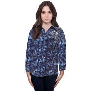 Polyester Mix Designer Shirt – NOW1150 | Dark Blue