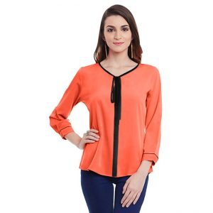 Polyester Mix Designer Shirt – NOW1164 | Orange