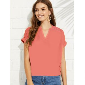 Polyester Mix Designer Shirt – NOW1165 | Orange