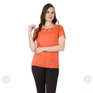 Polyester Mix Designer Shirt – NOW1166 | Orange