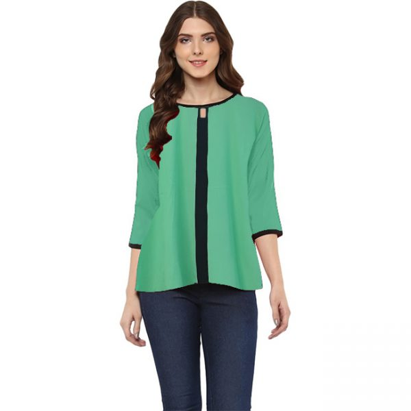 Bell Sleeve Stylish Top – NOW1200   Green