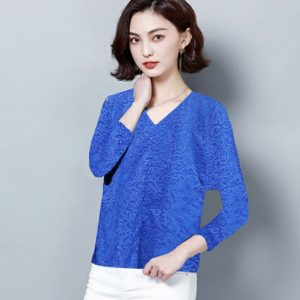 Full Sleeve Stylish Top – NOW1175 | Blue