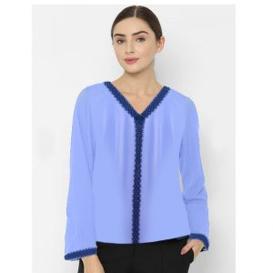 Full Sleeve Stylish Top – NOW1195 | Light Purple